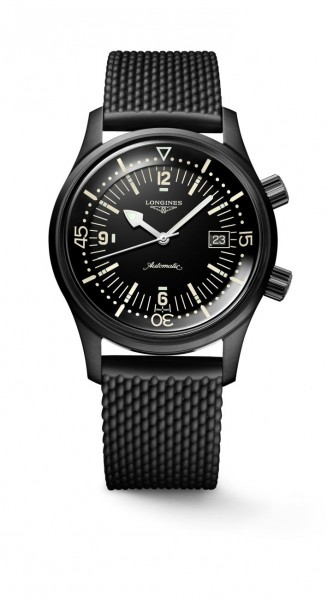 The Longines Legend Diver Watch 42 Edelstahl