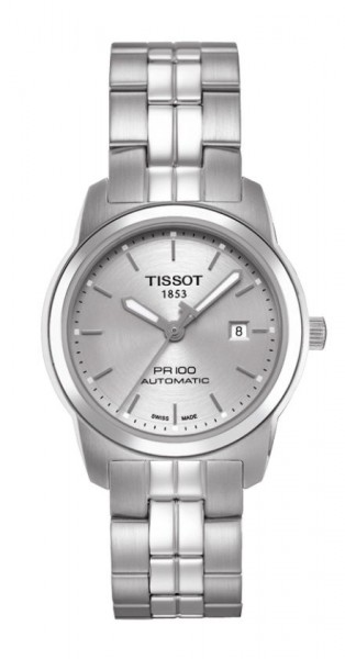 Dau Tissot PR100 Stahl Automatik Edelstahl