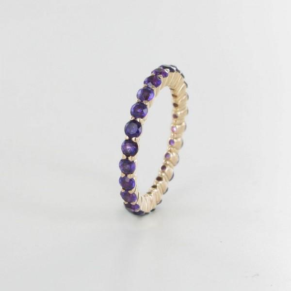 Ring mit Amethysten 750/RG