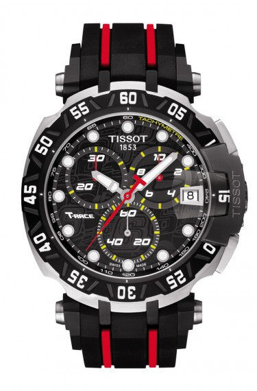 Tissot Chronograph T-Race Moto Edelstahl