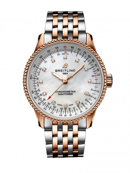 Breitling Navitimer Automatic 35 Stahl/Gold