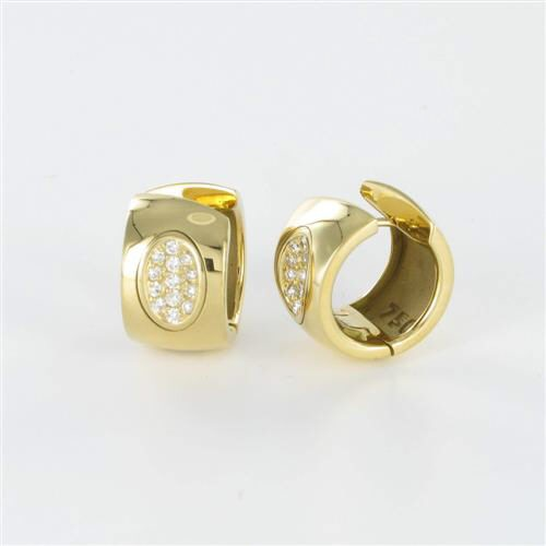 Ohrringe in Gelbgold 750/GG