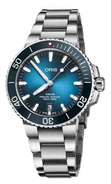"Oris Aquis ""Clean Ocean"" Ltd. Ed. Edelstahl"