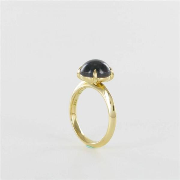 Ring Gold Granat 750/GG