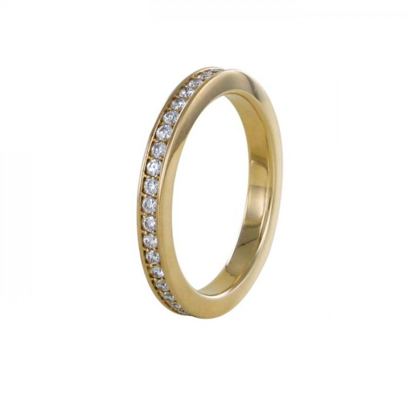 Memoire Ring Rotgold 750/RG