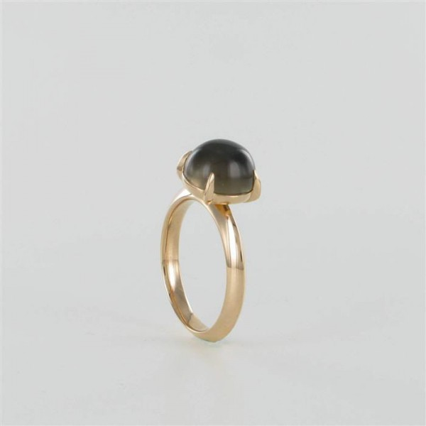 Ring Rauchquarz Rotgold 750/RG