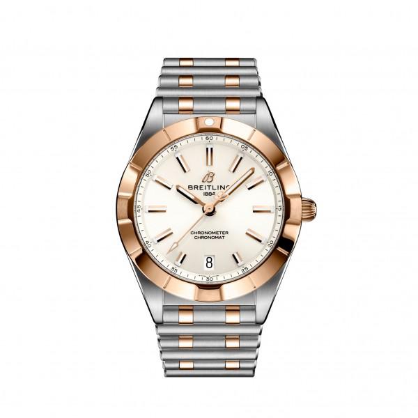 Breitling Chronomat 32 Quarz Damenuhr Stahl/Gold