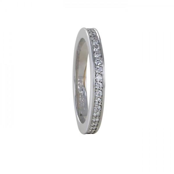 Memoire Ring Weißgold 750/WG