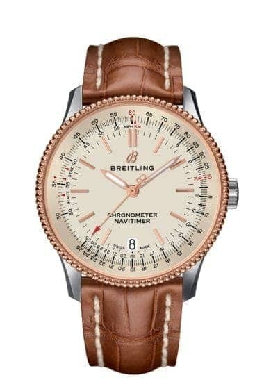Breitling navitimer 1 Automatic 38 Stahl/Gold