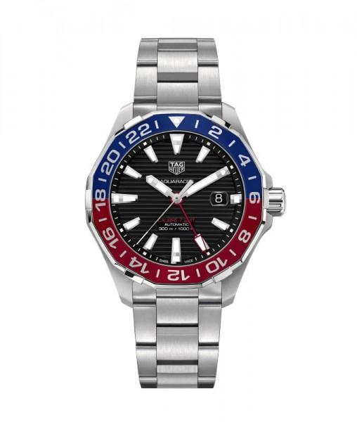 TAG Heuer Aquaracer GMT Edelstahl