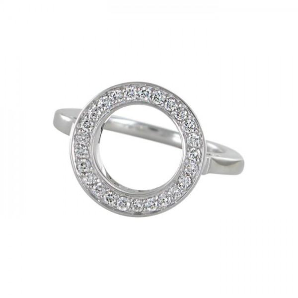 Ring Brillant 750/WG