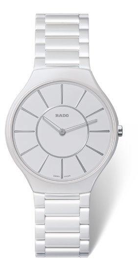 RADO True Thinline Weiß Hightech Keramik