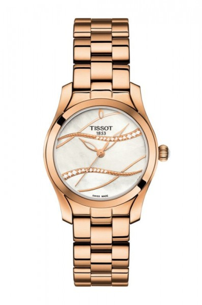 T Wave II Tissot Vergoldet
