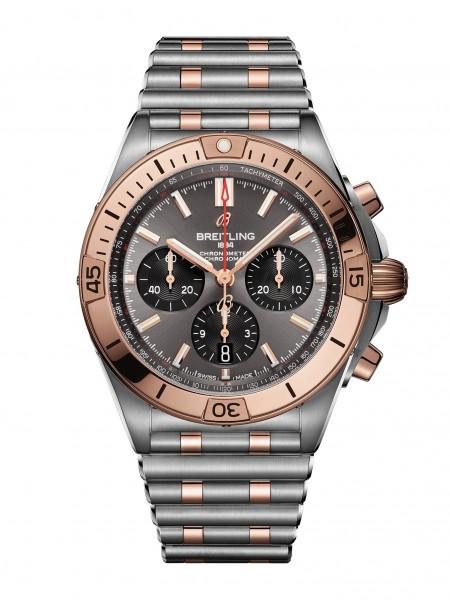 Breitling Chronomat 42 Stahl/Gold