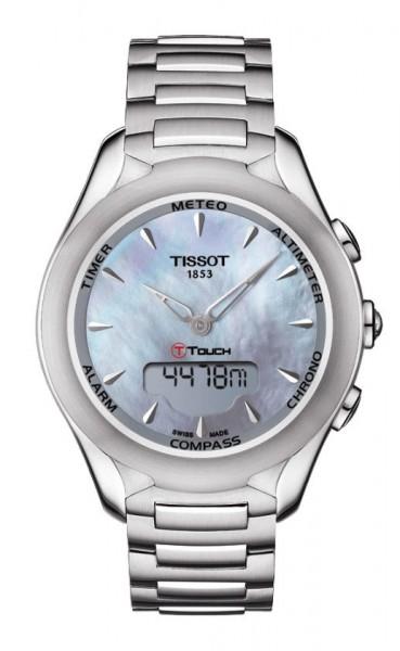 Tissot T-Touch Lady Solar Edelstahl