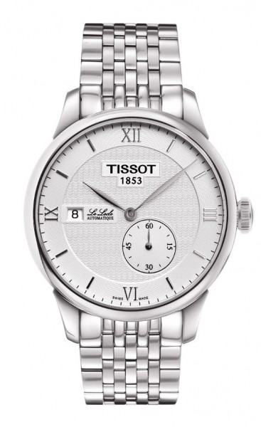 Tissot Le Locle small Second Edelstahl