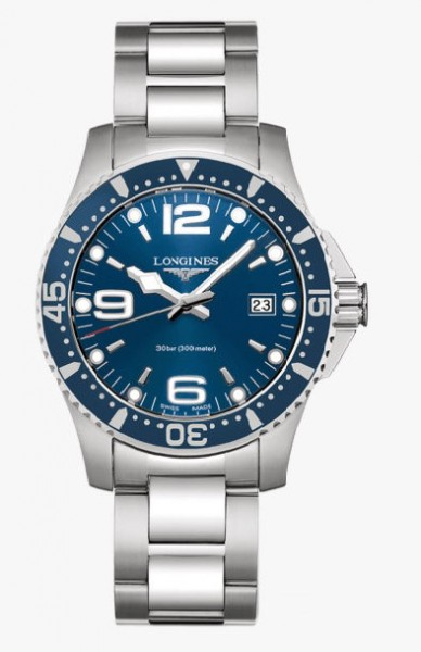 Longines Hydro Conquest Edelstahl