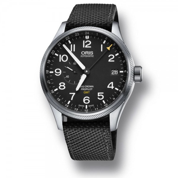 Oris Big Crown ProPilot GMT Edelstahl