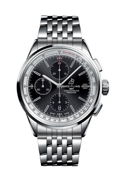 Breitling Premier Chronograph Edelstahl