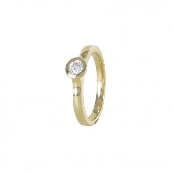 Ring Damen 750/GG