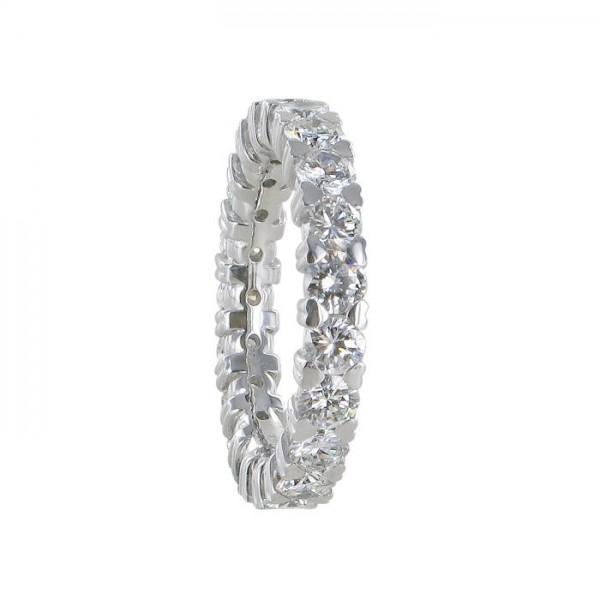 Weißgoldring Diamant 750/WG