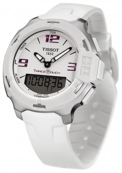 Tissot T-Race Touch Weiß Edelstahl