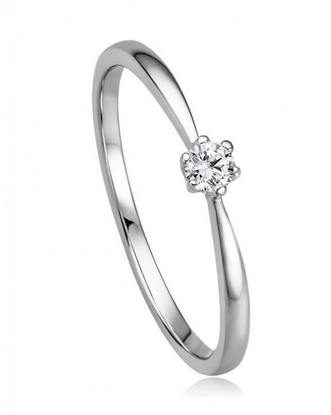 Brillant Ring Weißgold 585/WG