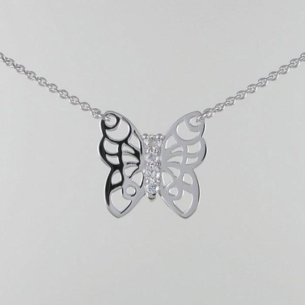 Schmetterlings Collier 750/WG